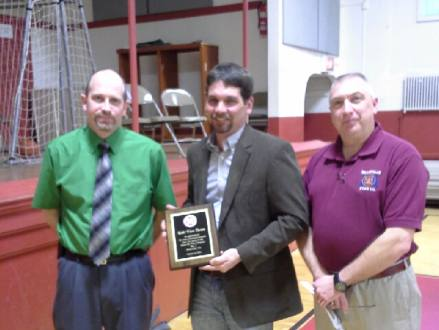 Community Service Award presented to Kish View Farms and Dryhouse Farms