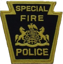 Special Fire Police Patch
