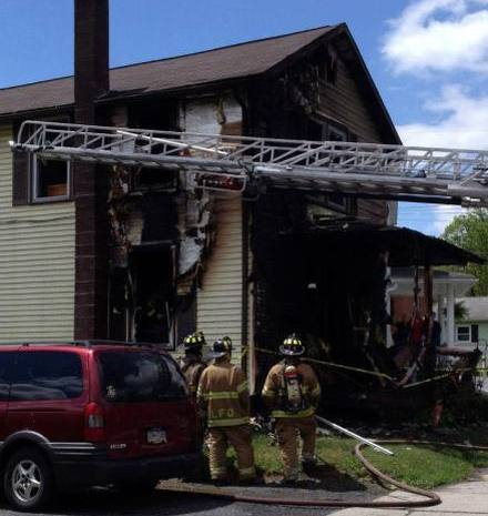 House fire in Reedsville